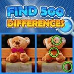 מצא 500 הבדלים